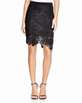 Lucy Paris Floral Lace Pencil Skirt - Bloomingdale's Exclusive