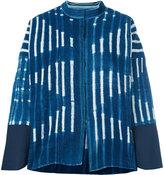 Forte Forte striped denim jacket - women - Cotton - 0