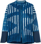 Forte Forte striped denim jacket - women - Cotton - 1