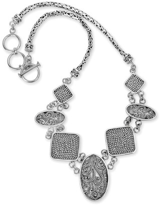 Samuel B. Silver Filigree Necklace