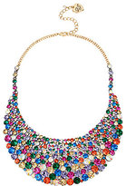 Betsey Johnson Multi-Stone Statement Necklace