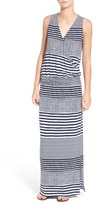Tommy Bahama 'A Stripe to Remember' Jersey Maxi Dress