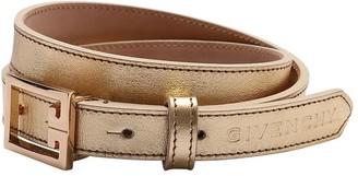 Givenchy Logo Leather Belt