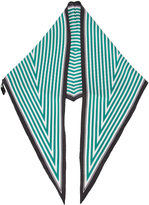 Haider Ackermann diamond stripe scarf