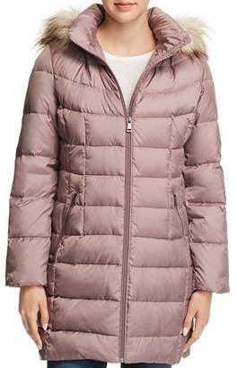 Calvin Klein Detachable Hood Puffer Coat