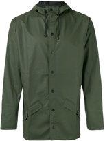 Rains hooded rain jacket - men - Polyester/Polyurethane - XS