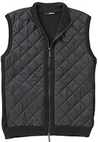 Murano Nylon Quilted Mock Neck Full-Zip Vest