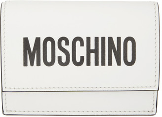 Moschino White Logo Wallet