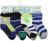 "Kidentials Baby Boys' ""Reptile Life"" 8-Pack Socks"