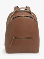 John Lewis & Partners Harper Leather Backpack