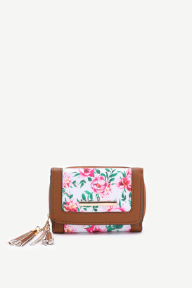 Ardene Small Floral Pocket Wallet
