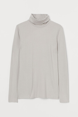 H&M Open-backed Top - Brown