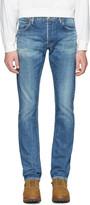 Visvim Blue Slim Social Sculpture 01 Jeans