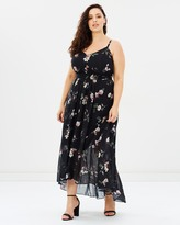 City Chic Captive Floral Maxi