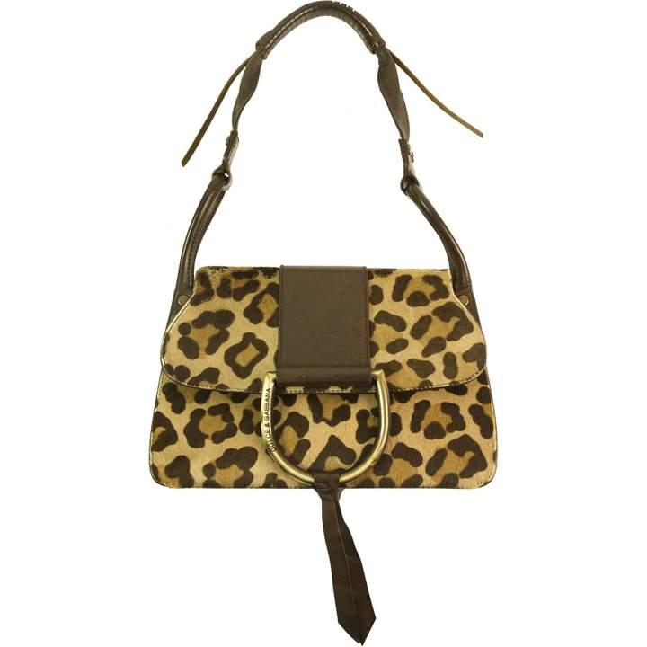 Dolce & Gabbana Brown Leather Handbag