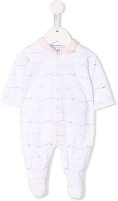 Emporio Armani Kids Logo Print Pajamas