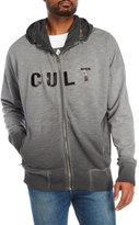 Cult of Individuality Metallic Zip Hoodie