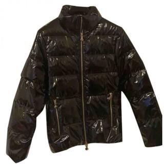 Pyrenex Black Leather Jacket for Women