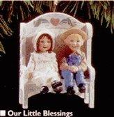 Hallmark QX5209 Our Little Blessings 1995 Keepsake Ornament by