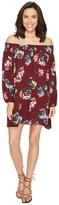 Brigitte Bailey Amila Off the Shoulder Floral Dress Women's Dress