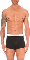 DSQUARED2 Pack of two logo-print stretch-jersey trunks