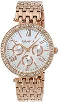 Bulova Caravelle New York Women's 44N101 Analog Rose Gold Dress Watch
