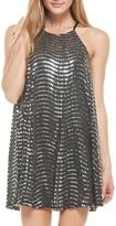 Everly Silver Sequins Dress