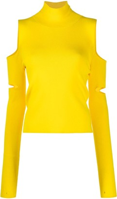 MM6 MAISON MARGIELA Convertible Cut-Out Pullover