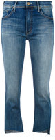 Mother Not Enough Rough jeans - women - Cotton/Polyester/Spandex/Elastane - 24