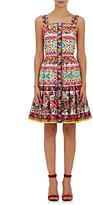 Dolce & Gabbana Women's Cotton Fit & Flare Dress-RED