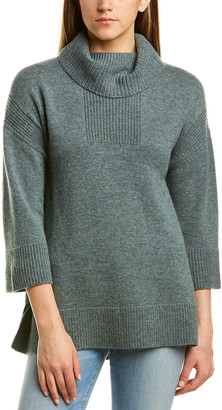 Hannah Rose Cashmere Turtleneck