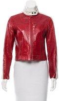 Frame Leather Racer Jacket