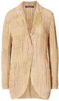 Ralph Lauren Brennan Goatskin Jacket