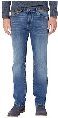 Mavi Jeans Zach Straight Leg in Mid Foggy Williamsburg (Mid Foggy Williamsburg) Men's Jeans