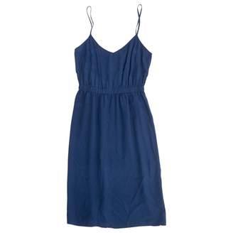 Twelfth St. By Cynthia Vincent Blue Silk Dress for Women