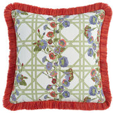 Mackenzie Childs MacKenzie-Childs Morning Glory Spindle Outdoor Cushion