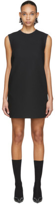 MSGM Black A-Line Dress