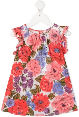 Zimmermann Kids Floral-Print Dress
