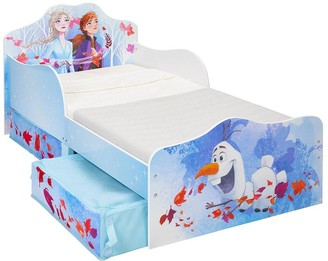 Disney Frozen Toddler Bed with Storage Drawers by HelloHome