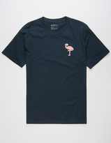 Retrofit Flamingo Patch Mens T-Shirt
