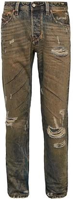 Diesel Larkee Beex Distressed Straight Jeans