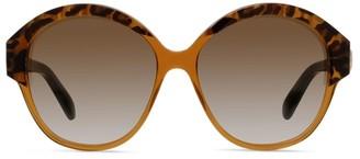 Celine 61MM Oversize Round Sunglasses
