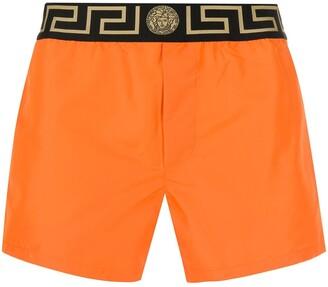 Versace Greca waistband boxer shorts