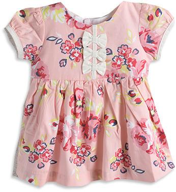 Pumpkin Patch 3 Bows Dress
