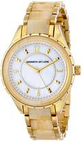 Kenneth Jay Lane Women's 2242 2200 Series Analog Display Japanese Quartz Gold Watch