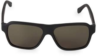 Alexander McQueen 57MM Aviator Sunglasses