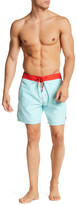 Mr.Swim Mr. Swim Embroidered Swim Trunk