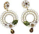 Dolce & Gabbana Floral Cage Earrings