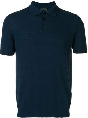 Roberto Collina knitted polo shirt