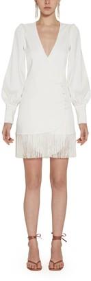 Amotea White Clotilde Mini Dress